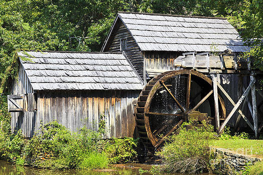 Jill Lang - Mabry Mill Close Up