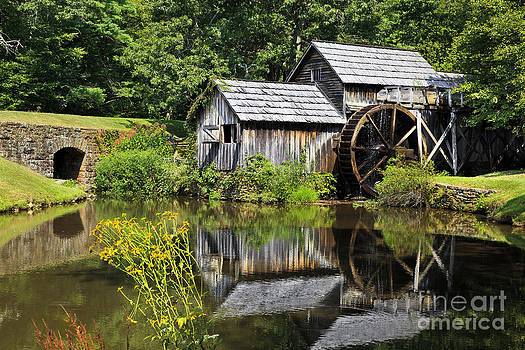 Jill Lang - Mabry Mill in Virginia