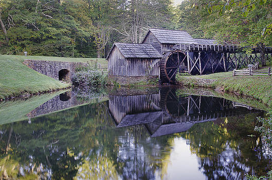 Mabry Mill by Michael Donahue