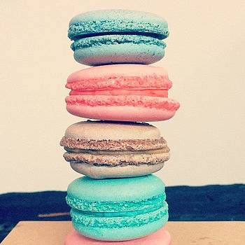 Macaron Tower by Courtney Jines