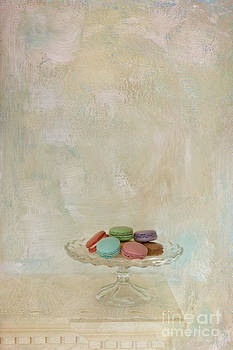Macaroons on Mantel II by Susan Gary