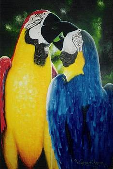 Macaws by Wagner Chaves