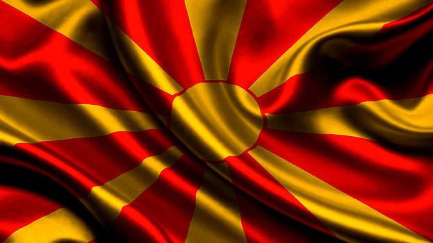 Valdecy RL - Macedonia Flag