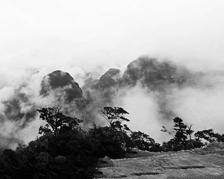 Machu Picchu Mists by Carl Sheffer