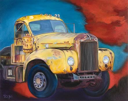 Mack Truck by Pamela Bell