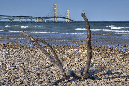 Mackinac Bridge by Megan Noble