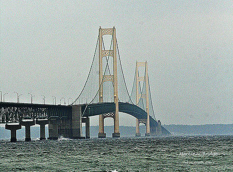 Mackinac Bridge by Pat McGrath Avery