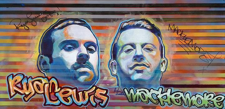 Macklemore and Ryan Lewis by Reuben Cheatem