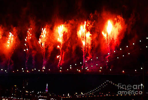 Macys 4th Of July Fireworks by Kendall Eutemey