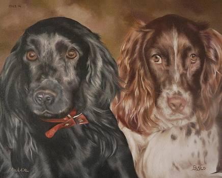Maddie and Bisto by Cherise Foster