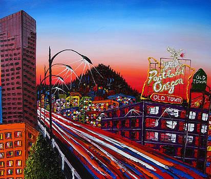 Made In Portland Oregon 3 by Portland Art Creations