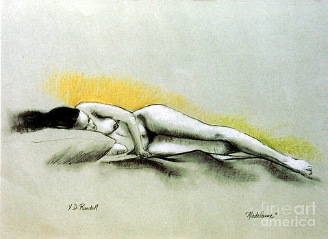 Madeilaine Reclining by Donna Randall