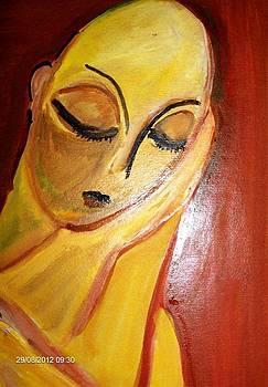 mademoisselle Pogany by Farfallina Art -Gabriela Dinca-