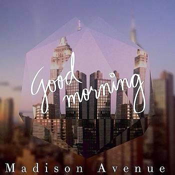 Madison Avenue #nyc #goodmorning by Joshua Plant