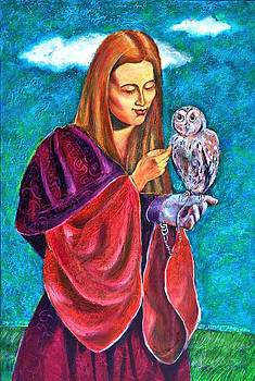 Ion vincent DAnu - Madona With Owl