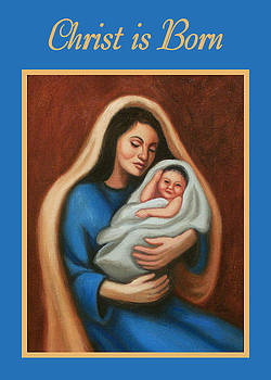 Ruth Soller - Madonna and Child card