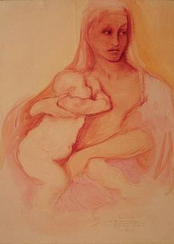 Madonna and Child by Herschel Pollard