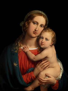 Madonna by Johann Ender