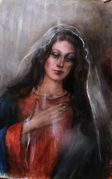 Madonna of  Loreto in Spring by Elisabeth Nussy Denzler von Botha