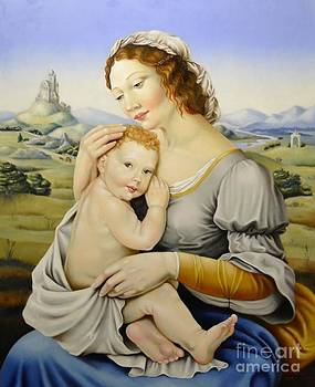 Madonna of the fields by Nathalie Chavieve