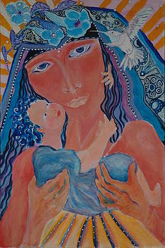 Madonna of the Milky Way by Rosemary Allen