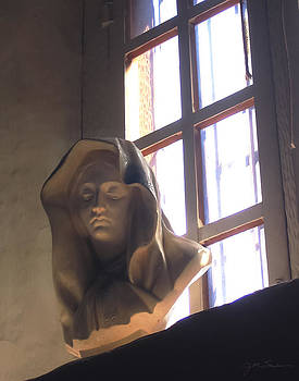 Julie Magers Soulen - Madonna Statue in Mission Window
