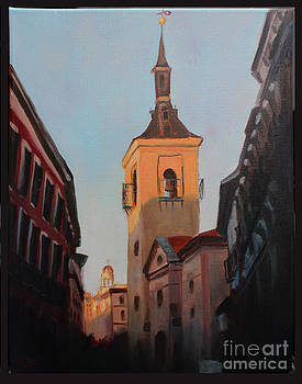 Madrid at Sunset by Edward Williams