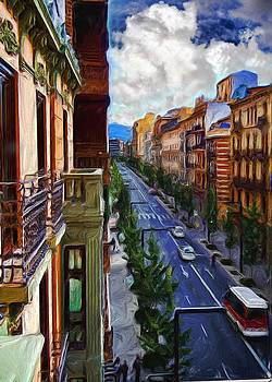 Madrid Morning by Cary Shapiro