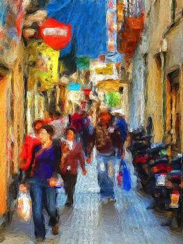 Madrid Shopping Spree by Cary Shapiro