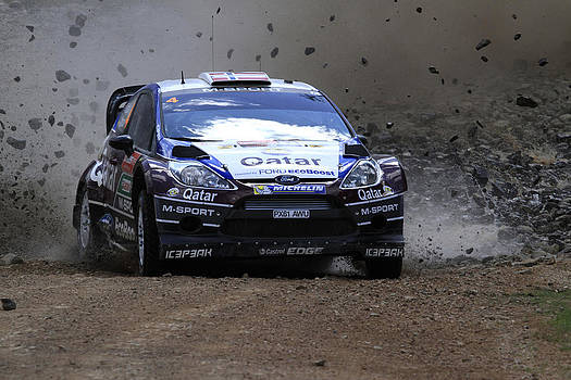 Mads Ostberg Fia World Rally Championship Australia by Noel Elliot