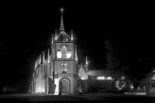 Kantilal Patel - Mae de Dues Church Goa Landscape