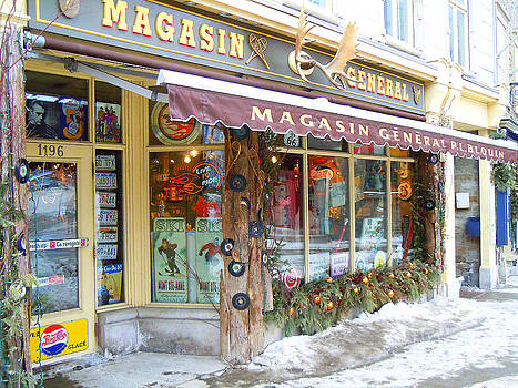 Magasin General Store by Anne Gordon
