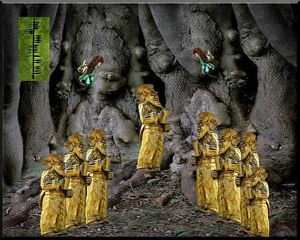 LeeAnn McLaneGoetz McLaneGoetzStudioLLCcom - Magic as the tree people celebrate health