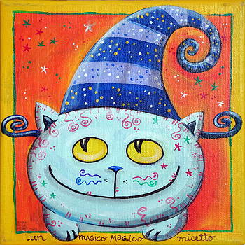 Loris Bagnara - Magic Cat With Fairy Hat