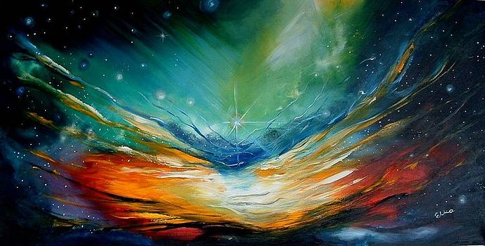 Magic Galaxy - Infinity II  - Nebula  by Elizabeth Kawala