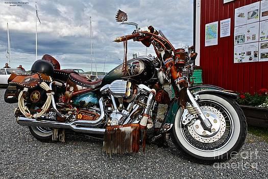 Magic Harley Davidson. by  Andrzej Goszcz