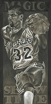 Magic Johnson - Legends Series by David Courson