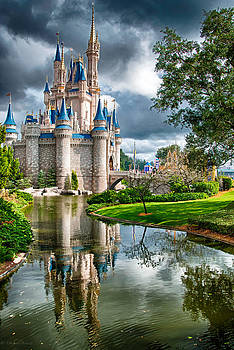 Magic Kingdom Castle 001 by Michael  Bennett