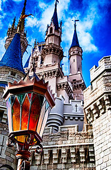 Magic Kingdom Castle 002 by Michael  Bennett