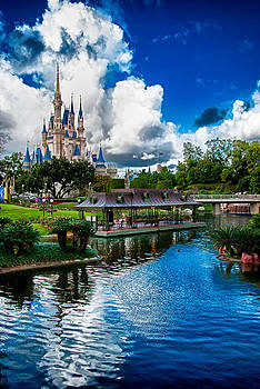 Magic Kingdom Castle 003 by Michael  Bennett