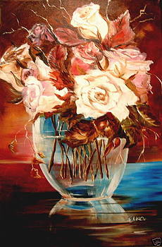 Magic roses from  my secret garden  by Elizabeth Kawala