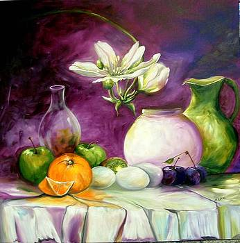 Magic table with 3 wishes by Elizabeth Kawala