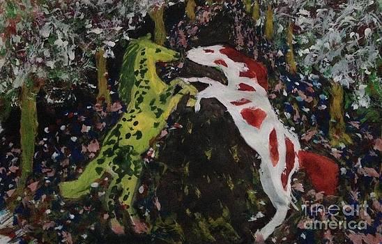 Magical Horses by Abiodun Bewaji