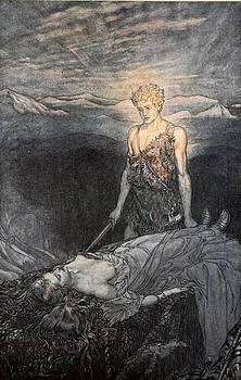 Arthur Rackham - Magical Rapture Pierces My Heart; Fixed
