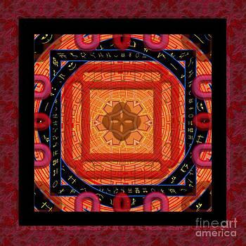 Liane Wright - Magical Rune Mandala
