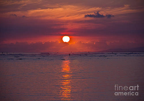 Magical Sunset by Kim Quintano