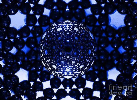 Magnetic spheres by Mark Teeter