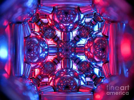 Magnetic stain glass by Mark Teeter