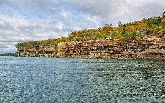 Magnificent Coast by John M Bailey