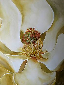 Alfred Ng - magnolia in white